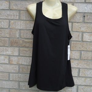 NWT.SIZE S.Soma Sport Fly Away Active Top In black